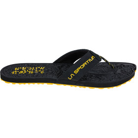 La Sportiva Jandal Sandals Men black/yellow